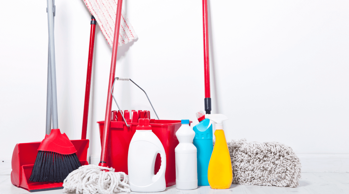 broom and mop storage ideas