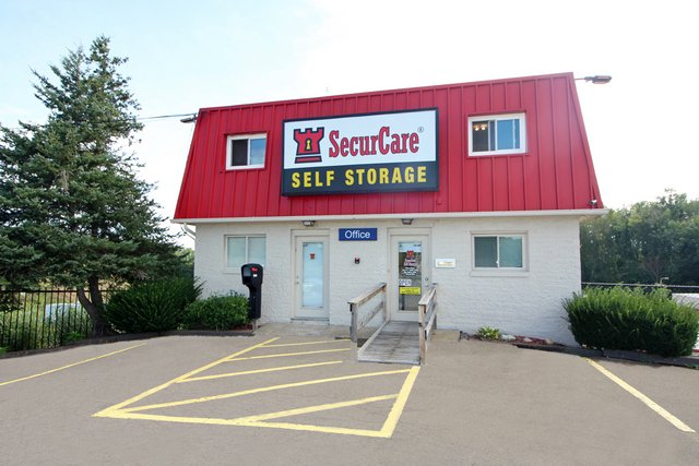 SecurCare Self Storage North Canton facility exterior