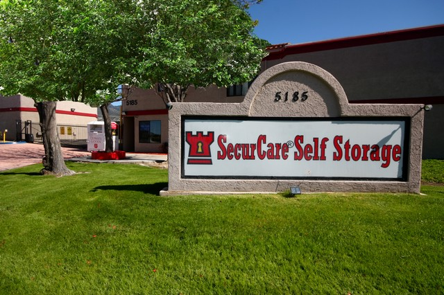 SecurCare Self Storage San Bernardino Front View