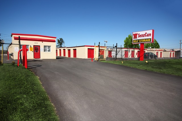 SecurCare Self Storage Durham SecurCare Self Storage Durham facility exterior