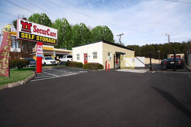 SecurCare Self Storage Winston-Salem access gate