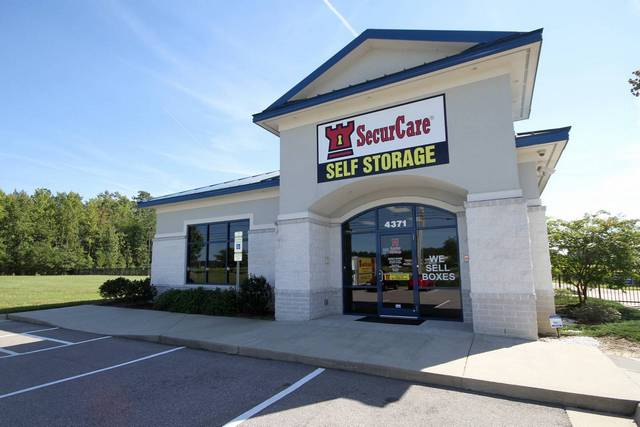 SecurCare Self Storage Wilson SecurCare Self Storage Wilson facility exterior