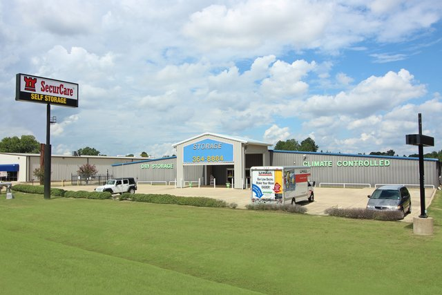 SecurCare Self Storage Bossier City facility exterior