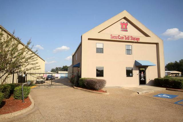 SecurCare Self Storage Shreveport access gate