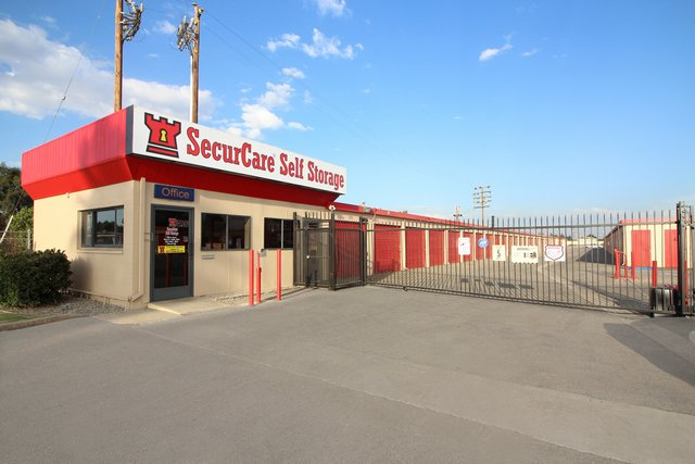 SecurCare Self Storage Bakersfield Facility Exterior