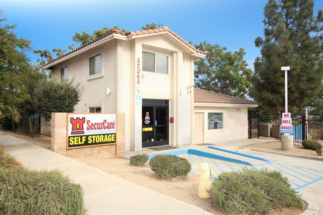 SecurCare Self Storage Yucaipa Facility Exterior
