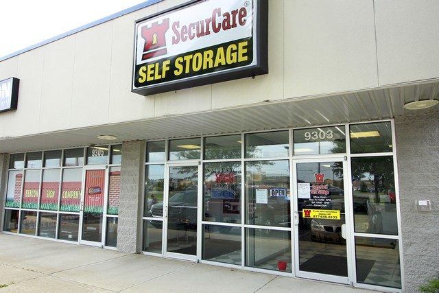 SecurCare Self Storage Avon Facility Exterior